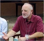 Dr. Alan Berkman discussing AIDS in Tanzania