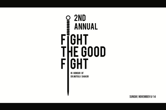 Fight the Good Fight - Toronto (November, 9, 2014) -